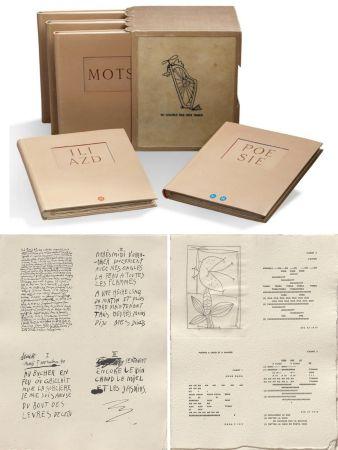 Illustrated Book Picasso - ILIAZD (Ilia Zdanevitch, dit.) POÉSIE DE MOTS INCONNUS. Gravures de Picasso, Matisse, Braque, Miro, Léger, Chagall, Giacometti, etc. 1949.