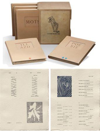Illustrated Book Matisse - ILIAZD (Ilia Zdanevitch, dit.) POÉSIE DE MOTS INCONNUS. Gravures de Picasso, Matisse, Braque, Miro, Léger, Chagall, Giacometti, etc. 1949.