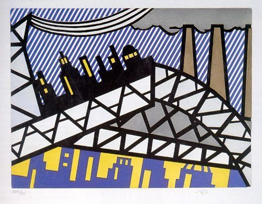 Etching And Aquatint Lichtenstein - Illustration for