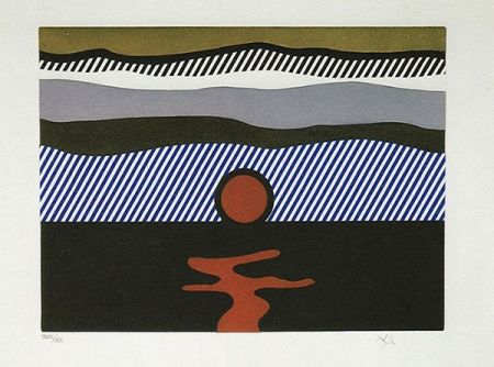 Etching And Aquatint Lichtenstein - Illustration for