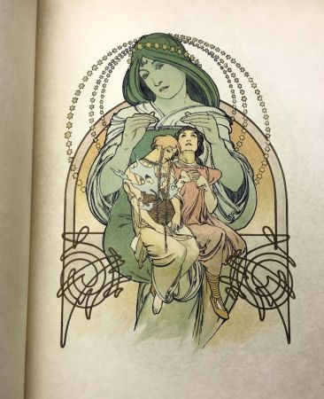 Illustrated Book Mucha - ILSÉE, PRINCESSE DE TRIPOLI. 132 lithographies de Mucha