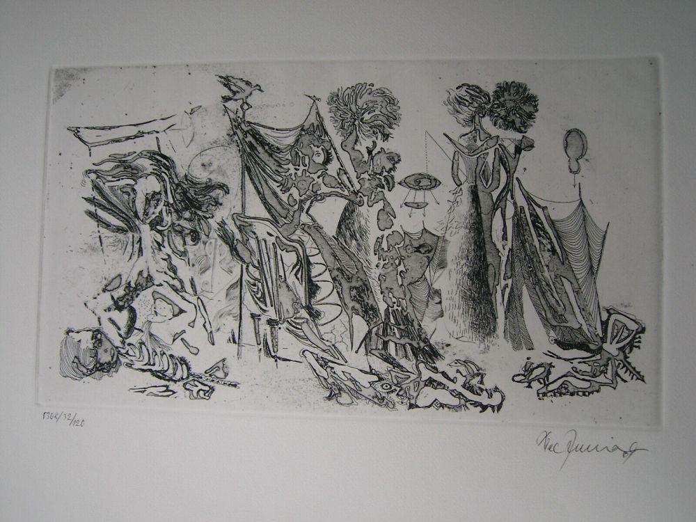 Etching And Aquatint Zimmermann - Im Atelier des...  II