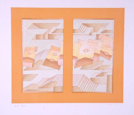 Lithograph Folon - Image pour Berggruen