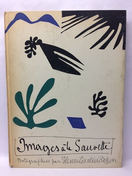 Illustrated Book Matisse - IMAGES À LA SAUVETTE
