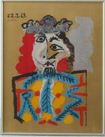 Lithograph Picasso - Imaginary portrait