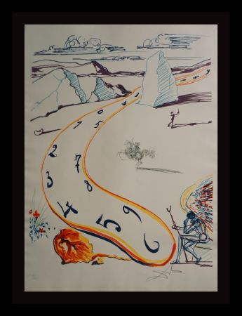 Etching Dali - Imaginations & Objects ofThe Future Melting Space Time