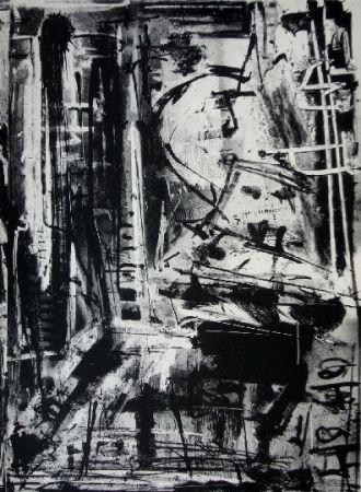 Lithograph Vedova - Immanente 1