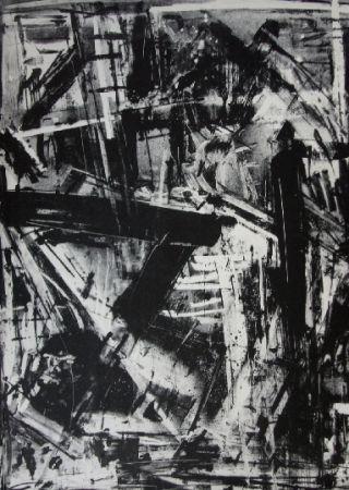 Lithograph Vedova - Immanente 2
