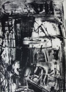 Lithograph Vedova - Immanente 3