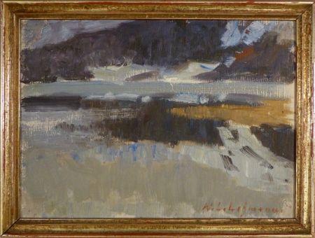 No Technical Lehmann - Impressionistische Landschaftsstudie
