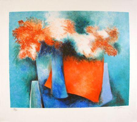Lithograph Gaveau - Impressions florales