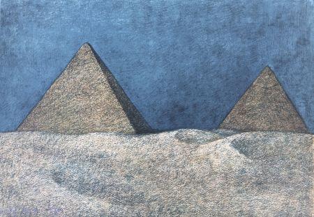Lithograph Zuniga - Impressions of Egipto (Egypt) plate 2