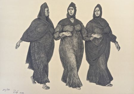 Lithograph Zuniga - Impressions of Egipto (Egypt) plate 5