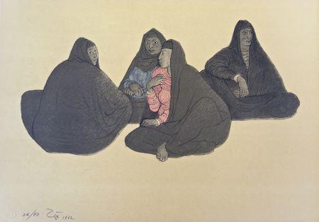 Lithograph Zuniga - Impressions of Egipto (Egypt) plate 7