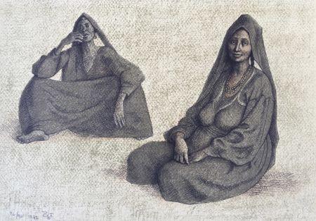 Lithograph Zuniga - Impressions of Egipto (Egypt) plate 8
