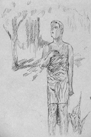 Lithograph Bonnard - In attesa di Santa Monica