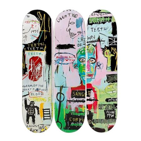 Lithograph Basquiat - In Italian