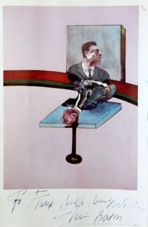 Poster Bacon - In Memory of George Dyer, from a triptych (1971)