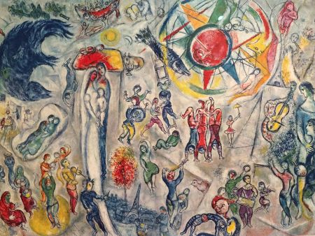 Illustrated Book Chagall - Inauguration Maeght