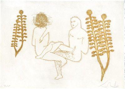 Engraving Pellegrini - Incerti umani