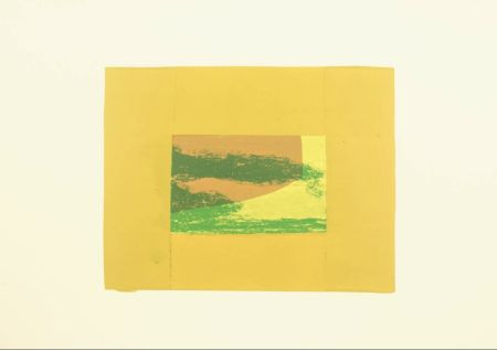 Screenprint Hodgkin - Indian Views – Plate F