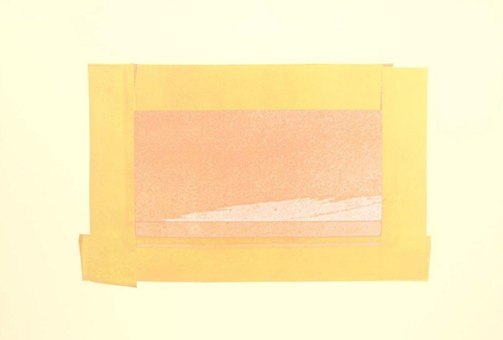 Screenprint Hodgkin - Indian Views – Plate H