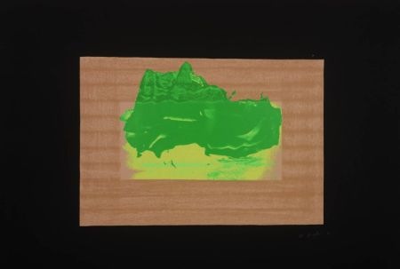 Screenprint Hodgkin - Indian Views Suite – Plate D