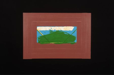 Screenprint Hodgkin - Indian Views Suite – Plate G