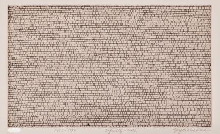 Etching Kusama - Infinity Nets
