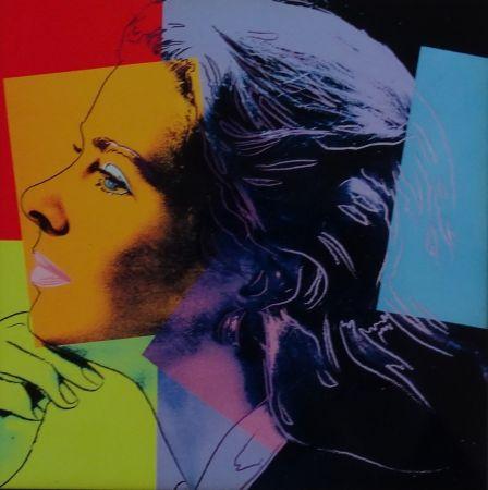 Screenprint Warhol - Ingrid Bergman