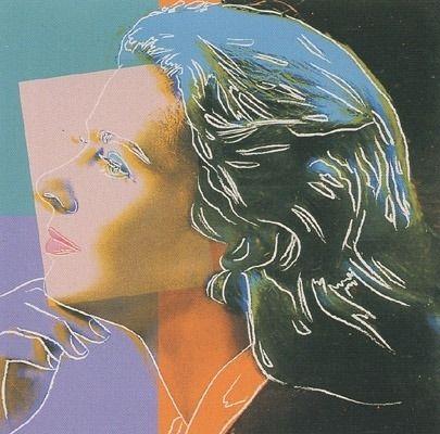 Screenprint Warhol - Ingrid Bergman - Herself