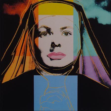 Screenprint Warhol - Ingrid Bergman - The bells of St. Mary´s