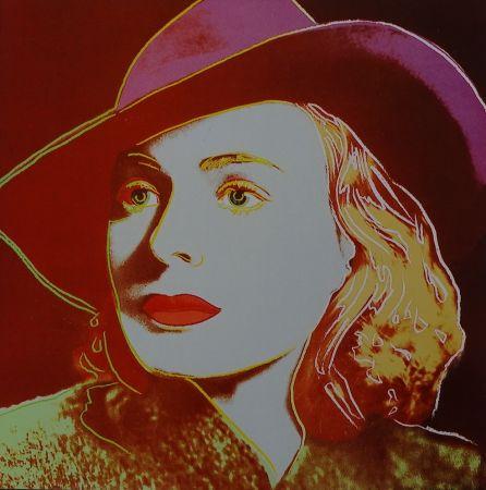 Screenprint Warhol - Ingrid Bergman Casablanca