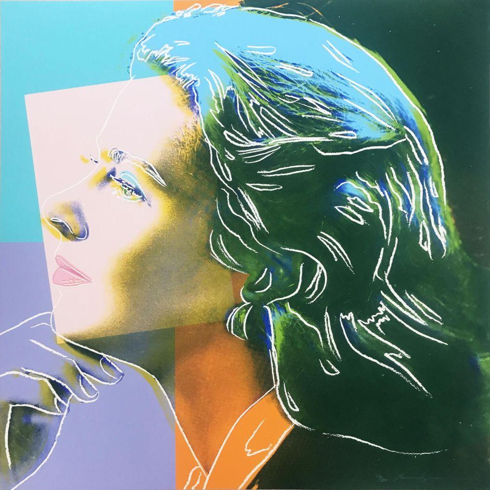 Screenprint Warhol - Ingrid Bergman: Herself