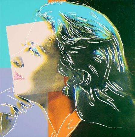 Screenprint Warhol - Ingrid Bergman, Herself FS II.313