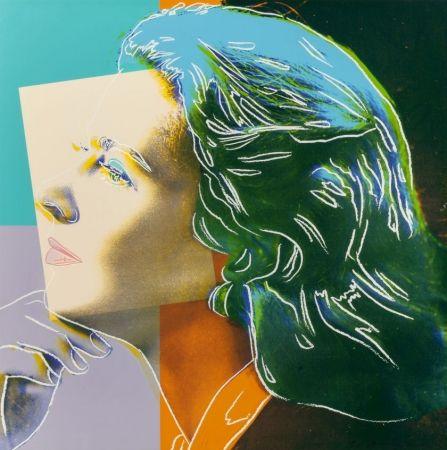 Screenprint Warhol - Ingrid Herself