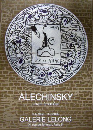 Poster Alechinsky - Ink et nunc