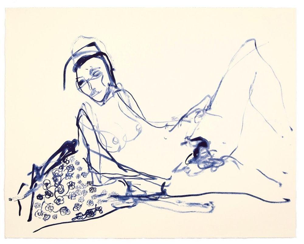 Lithograph Emin - Innocence