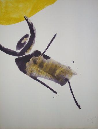 Lithograph Tal Coat - Insecte