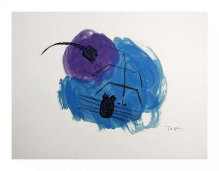 Lithograph Takis - Insectes