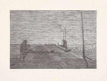 Woodcut Baumgartner -
