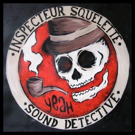 Poster Zabou - Inspecteur Squelette