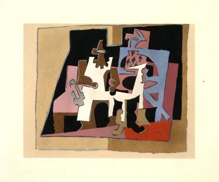 Lithograph Picasso (After) - Intérieur