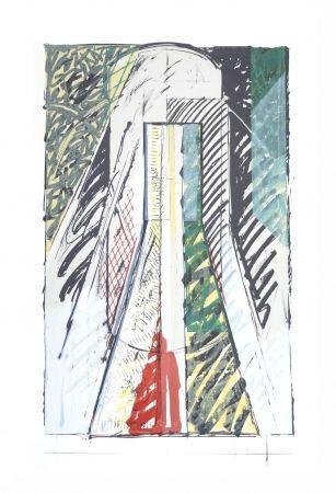 Lithograph Titus Carmel - Intérieur 2