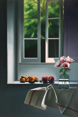 No Technical Cohen - Interior with Anemones and Fruit