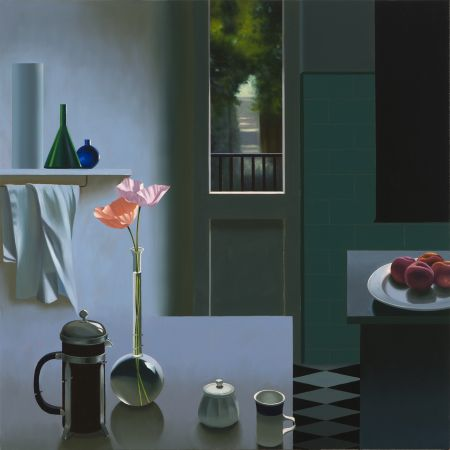 No Technical Cohen - Interior with Coffee Pot and Poppies