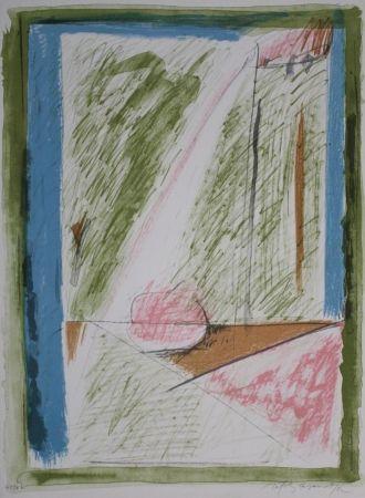 Lithograph Ràfols Casamada - Interiors 1