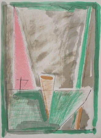 Lithograph Ràfols Casamada - Interiors 4