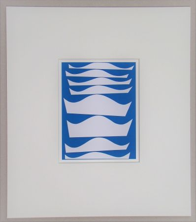 Screenprint Taeuber-Arp - Intervalles - 1934
