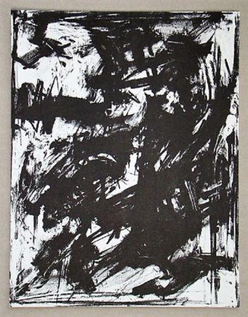 Lithograph Vedova - Intolleranza 1960